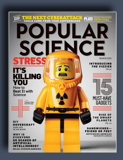 مجله ی Popular Science USA – مارس 2015