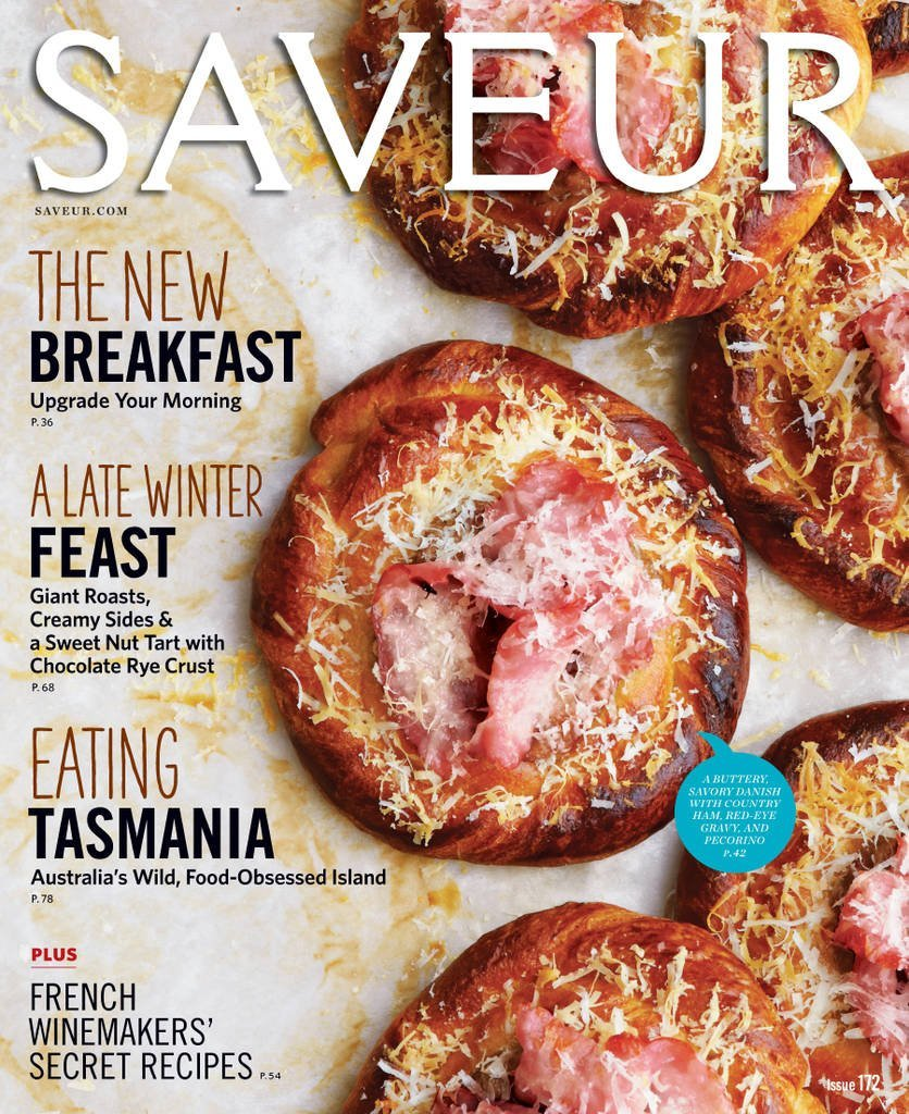 مجله ی Saveur - شماره ی 172 2015