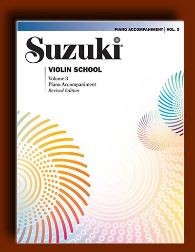 همراهی پیانو برای جلد 3 سوزوکی