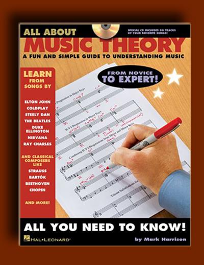 همه چیز در مورد تئوری موسیقی : راهنمای ساده و مفرح برای فهم تئوری موسیقی