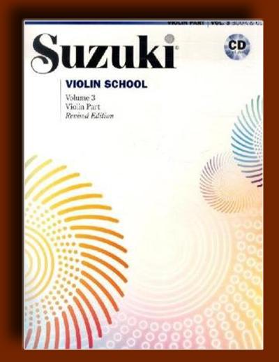 ویولن سوزوکی – جلد سوم