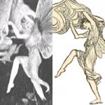 مقایسه ی پری های کاتینگلی و تصاویر کتاب Princess Mary's Gift Book