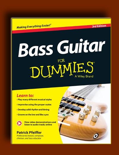 کتاب جامع آموزش گیتار بیس : گیتار بیس برای دامی ها