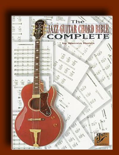 کتاب مقدس و جامع آموزش آکوردهای گیتار جز (گیتار جاز)