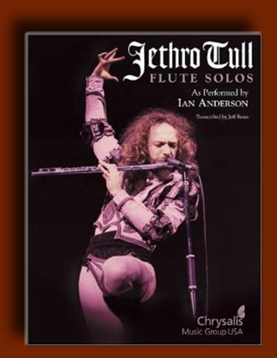 کتاب نت فلوت – تکنوازی های فلوت Jethro Tull