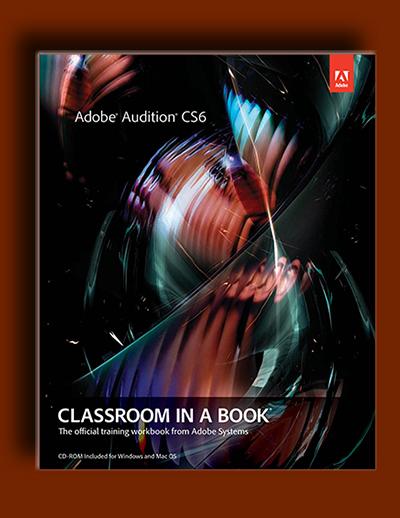 کلاس درس و آموزش Adobe Audition در یک کتاب