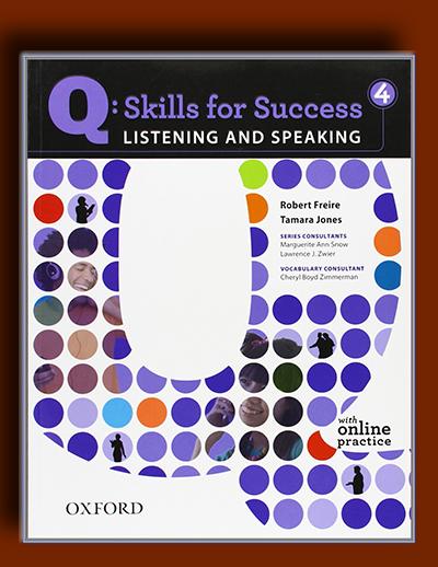 Q: مهارت های موفقیت 4 (Listening و Speaking)