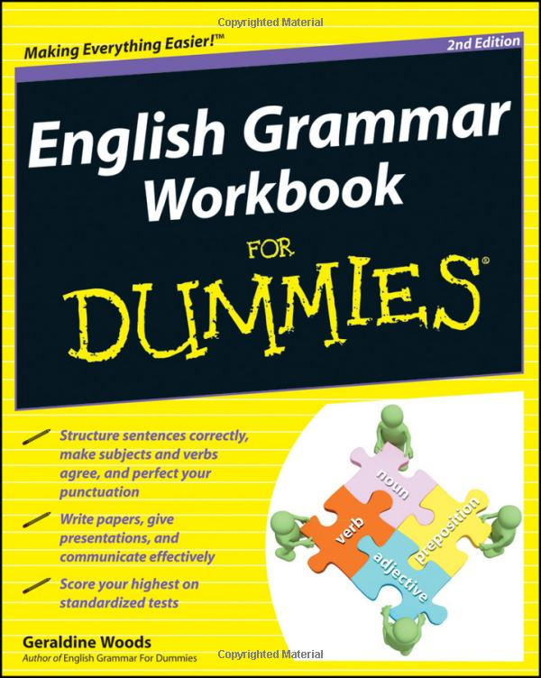 کتاب تمرین گرامر زبان انگلیسی برای دامیز